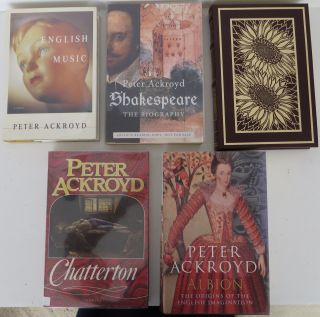 A Collection of Five Books. Peter Ackroyd