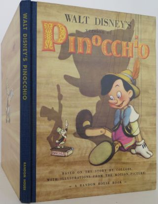 Walt Disney's version of Pinocchio. Walt Disney, Collodi