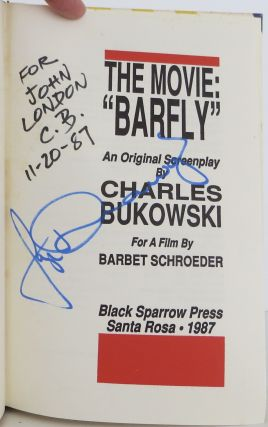 """The Movie: """"Barfly"""""""