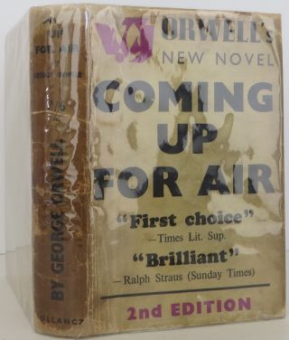Coming Up for Air. George Orwell