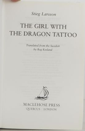 The Girl with the Dragon Tattoo-Trilogy