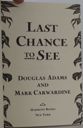 Last Chance to See